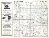 Durham T7N-R6W, Hancock County 1963